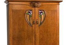 Art nouv. - Furnitures / ca 1890 - 1910