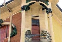 "Buildings & Details - Art Nouveau / ca 1890 - 1910 Also see board ""Victorian"""