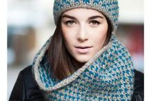Winters haken / Lekker warme en mooie mutsen, sjaals en sloffen om te haken. Warm and beautiful hats for winter to crochet.