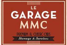 Le Garage MMC / propositions de design et d'architecture intérieure pour la réception des clients chez le vendeur n°1 de véhicules de collection vintage.