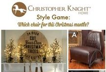 Style Game - Christmas Mantle by Eclectically Vinatage