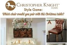 Style Game - Christmas Dining Room by Thoughts from Alice