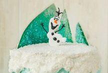 Frozen cakes / Disney Frozen themed cakes. Elsa cakes. Anna cakes. Olaf cakes. / by Frozen Party Ideas
