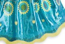 Frozen fever Anna's birthday inspired party / Frozen party ideas inspired by Anna's birthday and Anna's dress in Frozen Fever