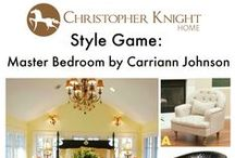 Style Game: Carriann Johnson / Which chair would you pair with this master bedroom designed by Carriann Johnson?