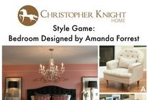 Style Game: Bedroom Designed by Amanda Forrest / Which chair would you pair with this master bedroom designed by Amanda Forrest?