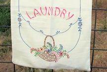 Clotheslines & Laundry / Tvättlinor & Tvätt