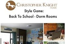 Style Game: Dorm Room Chairs / Every dorm room needs a good chair to study in!