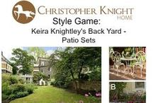 Style Game: Keira Knightley's Backyard / Which patio furniture looks best in Keira's backyard?