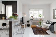 Kitchen Living Room Open Concept - Combo / Açık Mutfak / Kitchen Living Room Open Concept - Combo / Açık Mutfak - Oturma Odası ve Mutfak