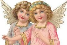Angels -  Scraps, Graphics & Art / Scroll for more graphic boards!