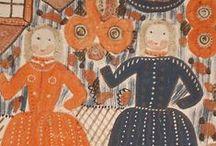 Art - Naive & Folk Art Paintings