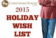 2015 Christopher Knight Home Holiday Wish List / This is the time of year that everyone is looking for that perfect gift for a loved one or a special treat for themselves.  That is why I put together this list of my favorite items from the Christopher Knight Home Collection.  I love the idea of starting off a new year with a new look for my home and I think you will too. Happy Holidays! Chris Knight
