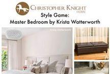 Style Game: Krista Watterworth Master Bedroom