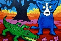 Blue Dog Luvvvv / by Cheryl