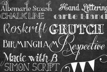 Free Fonts & free printables