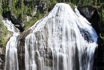Hikes with Waterfalls in Yellowstone National Park / Waterfalls have a magic all their own. These hikes will take you to some of Yellowstone's most scenic falls.