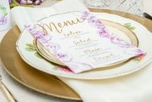 TABLE SETTINGS / Ideas to set your table for any occasion -- looking for classic, rustic or beach shabby look? We got it all!