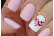 valentine nails & nail art design tutorial by nded / valentine nails & nail art design tutorial by nded