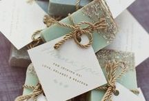 WEDDING FAVORS / Beautiful, meaningful, fun and otherwise fabulous wedding favors!