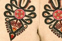 "folk design: embroidery / Patterns and closeups - only the actual embroidery. For more folk motifs go to the ""folk design"" folder. +++++++ I'M MOVING - new pins will appear here: http://www.pinterest.com/lamusdworski/"