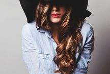 Hairstyles, makeup