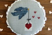 Cross Stitch beauties / Cross stitch embroideries that catch my eye....