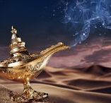 Genie and Lamps