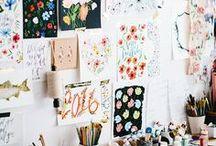 OFFICE / Wil je graag styling advies voor je eigen kantoor, kom dan kijken op de website www.littledeer.nl #kantoor #interieur #inspiratie #office