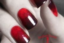 red nail designs & nail art gallary by nded / red nail designs & nail art gallary by nded