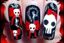 gothic nail art tutorials & video by nded / gothic nail art tutorials & video by nded