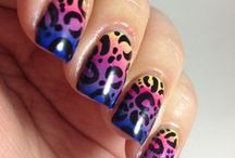 leopard nail art designs gallery by nded / leopard nail art designs gallery by nded