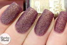 sand effect nail art tutorial & videos by nded