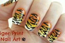 tiger nail art tutorial & videos by nded / tiger nail art tutorial & videos by nded