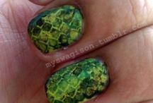 alligator nail art tutorial & video gallery by nded / alligator nail art tutorial & video gallery by nded
