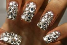 rhinestones nail art tutorial & video gallery by nded / rhinestones nail art tutorial & video gallery by nded