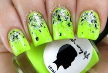 neon glitter nail art design gallery by nded / neon glitter nail art design gallery by nded