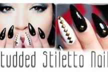 stiletto nails tutorial & videos by nded / stiletto nails tutorial & videos by nded