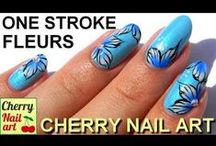one stroke nail art tutorial & video gallery by nded / one stroke nail art tutorial & video gallery by nded