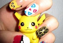 pokemon nail art design tutorial & videos by nded / pokemon nail art design tutorial & videos by nded