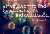 Dankbaar / Inspiratie voor dankbaarheid