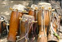 African Drumming / Playing African drums and Afro-Latin percussion, with glimpses of band fun!