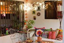 Camastros, bancos, sillas / decoracion de galerias