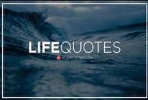 Life Quotes To Live By / In this board we share the best life quotes to live by. Click follow to stay updated!