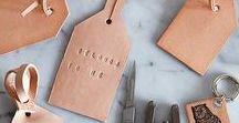 LEATHER / Wil je graag styling advies, kom dan kijken op de website www.littledeer.nl #DIY #interieur #leer #leather
