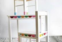 IKEA HACK LATT / Wil je graag styling advies, kom dan kijken op de website www.littledeer.nl #creatief #ikea #lutt #inspiratie #hack #kids #DIY