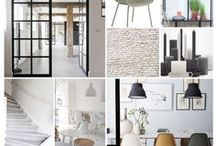 PROJECT EDE / Project Ede, een interieuradvies voor woonkamer en eetkamer. #woonkamer #eetkamer #taatsdeuren #basic  #industrieel #zwartwit