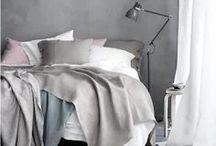 BEDROOM GREY / Wil je graag styling advies voor je slaapkamer, kom dan kijken op de website www.littledeer.nl #slaapkamer #bedroom #slapen #grey #grijs