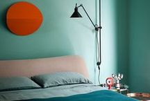 BEDROOM TURQUOISE / Wil je graag styling advies voor je slaapkamer, kom dan kijken op de website www.littledeer.nl #slaapkamer #bedroomideas #slapen #turquoise  #bedroom