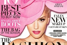 Magazine covers / Portadas de revistas de moda, belleza y todo lo que me inspire